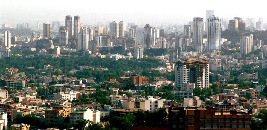 Панорама города Тегеран