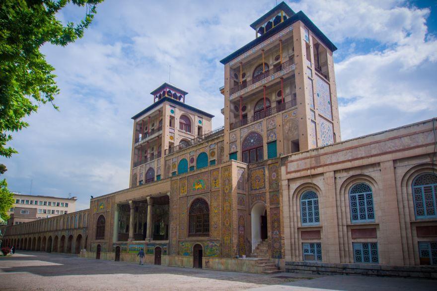 Дворец Голеста город Тегеран