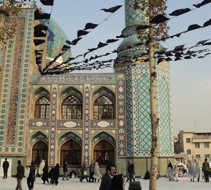 Мечеть город Тегеран