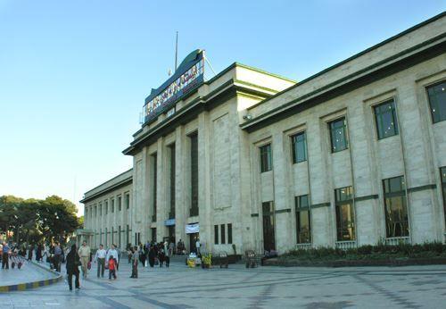 Железнодорожный вокзал город Тегеран 2019