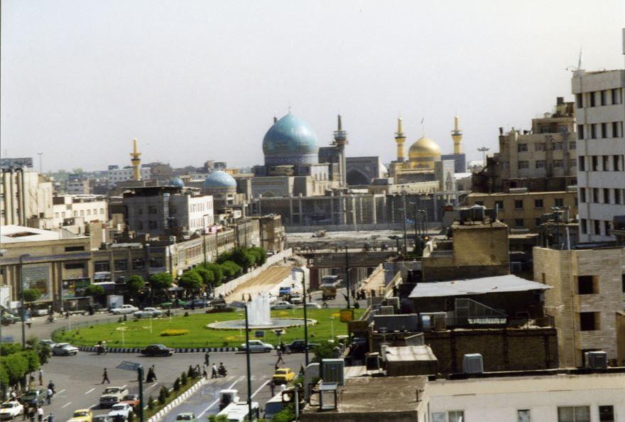 Вид на город Мешхед