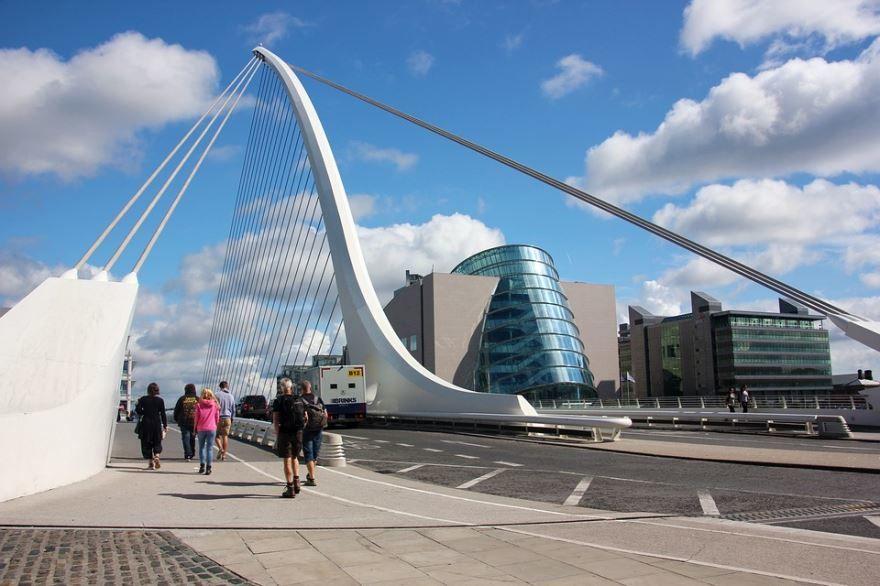 Фото города Дублин Ирландия