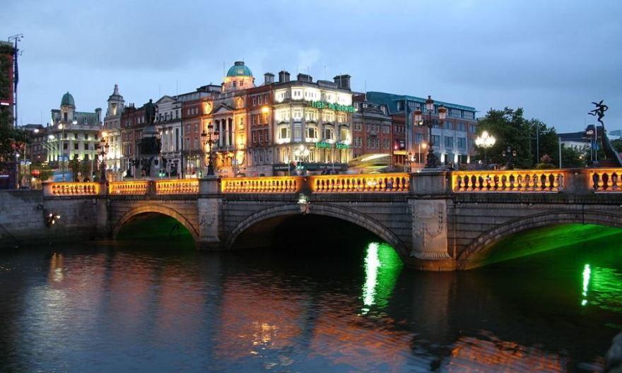 Смотреть красивое фото города Дублин Ирландия