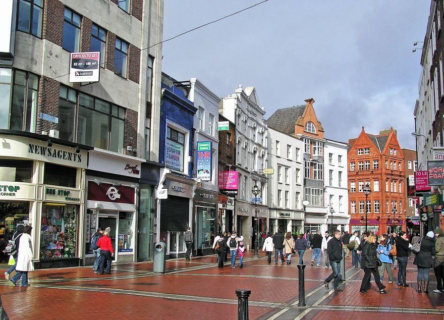 Улица города Дублин