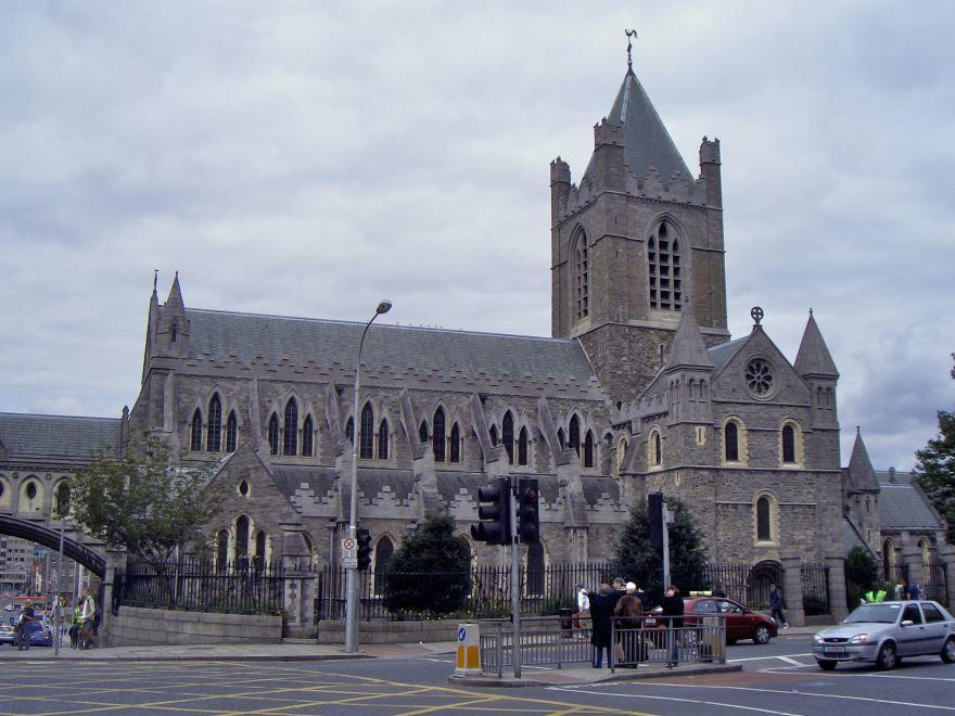 Собор города Дублин Ирландия