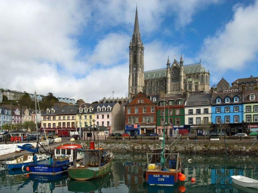 Вид на город Корк