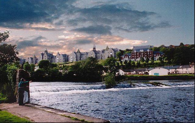 Смотреть красивое фото город Корк