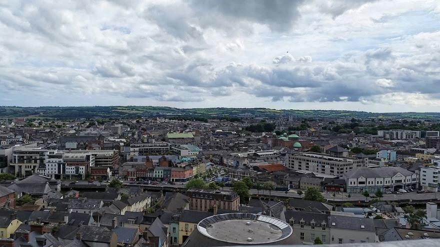 Панорама город Корк