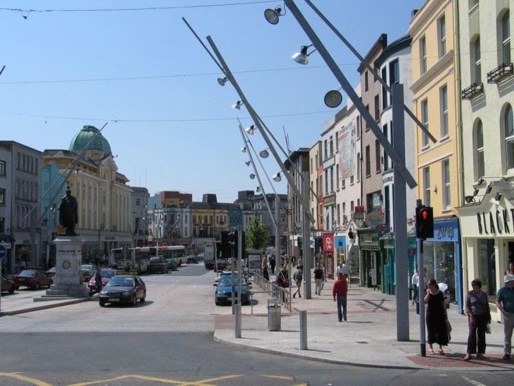 Улица город Корк
