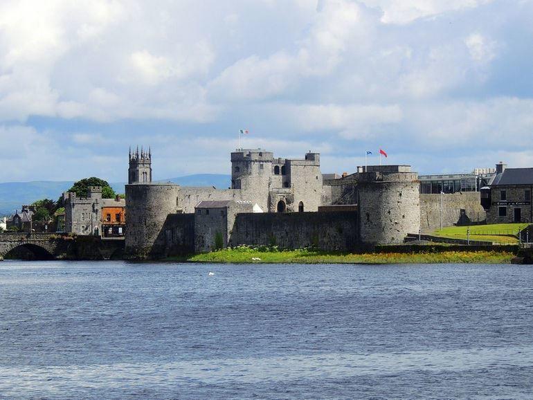 Замок короля Иоанна Безземельного