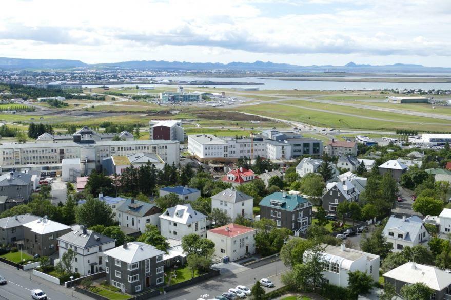 Фото города Рейкьявик Исландия