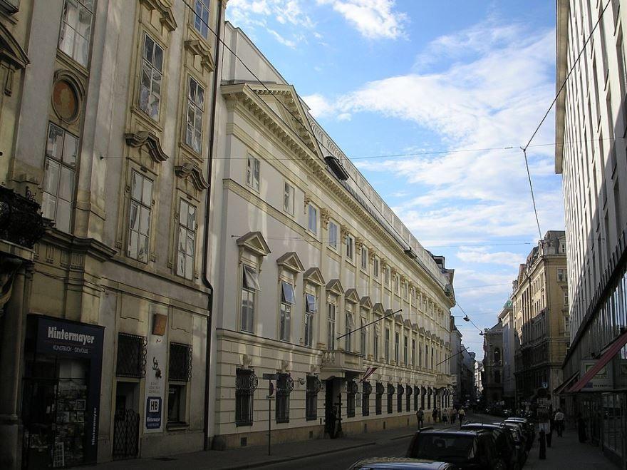 Улица города Модена Италия