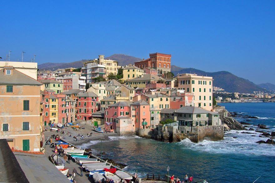 Смотреть красивое фото город Генуя