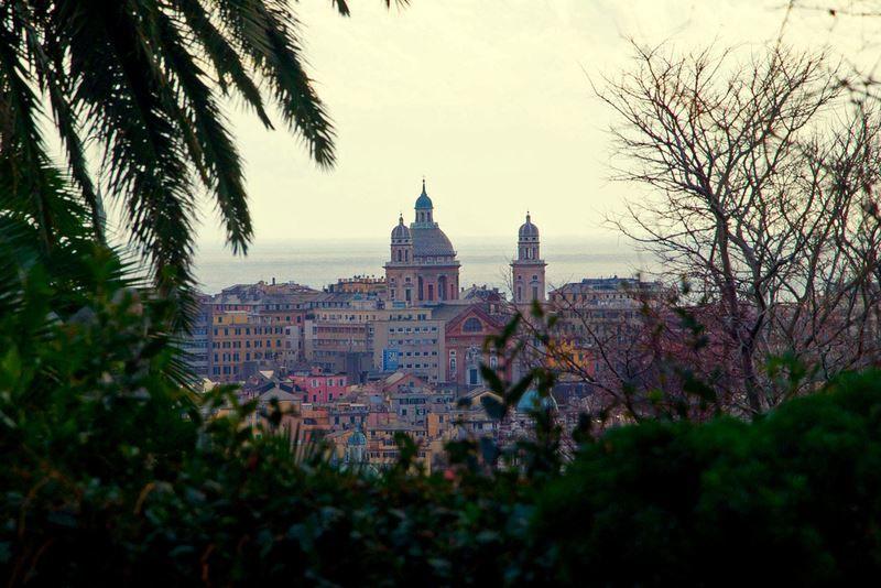 Фото города Генуя Италия