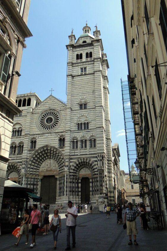 Улица город Генуя