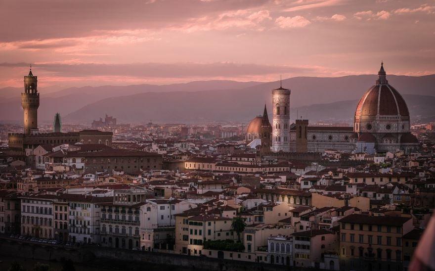 Панорама город Флоренция
