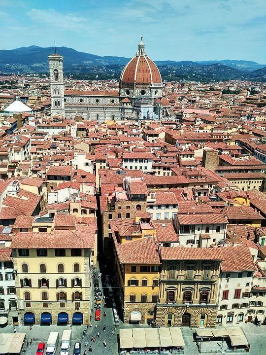 Вид на город Флоренция