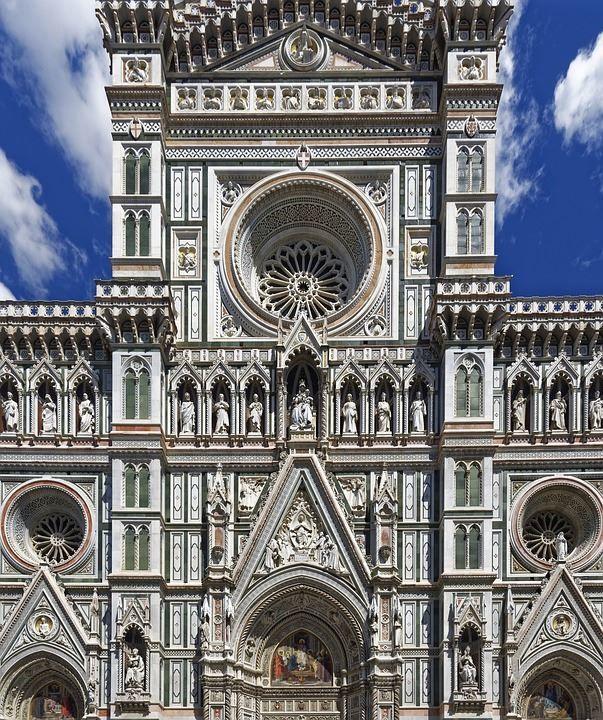 Архитектура город Флоренция