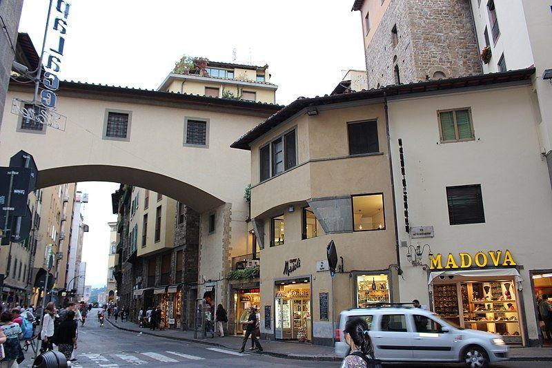 Улица город Флоренция