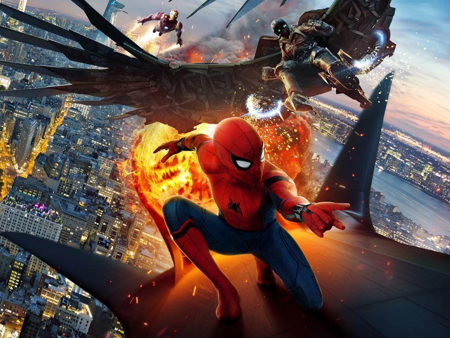 Бесплатные кадры к фильму Человек-паук: возвращение домой в качестве 1080 hd