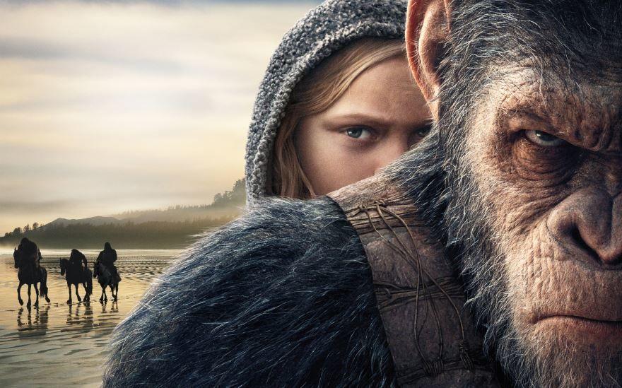 Бесплатные кадры к фильму Планета обезьян: война в качестве 1080 hd