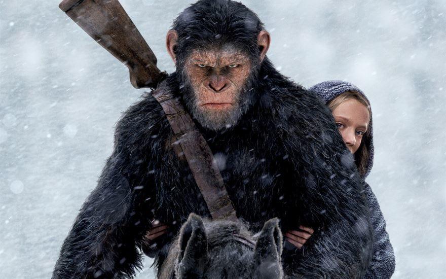 Лучшие картинки и фото фильма Планета обезьян: война 2017 в хорошем качестве