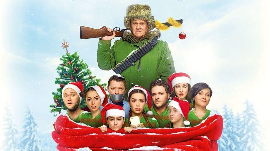 Скачать бесплатно постеры к фильму Новогодний переполох в качестве 720 и 1080 hd