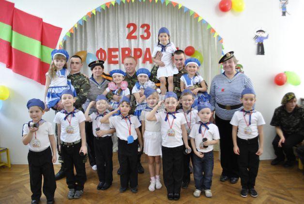 Фото 23 февраля в детском саду