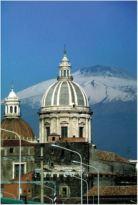 Фото города Катания Италия