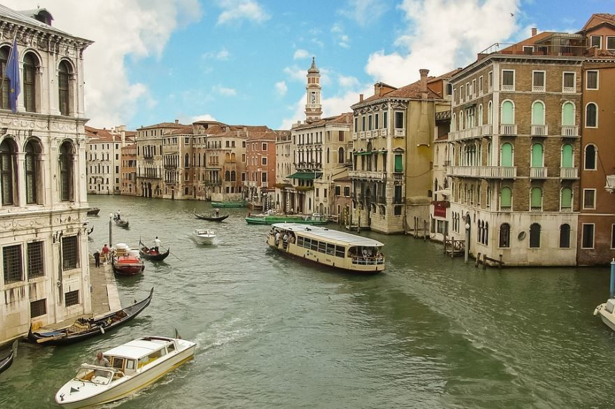 Улица города Венеции
