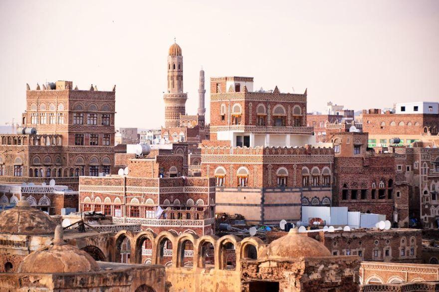 Фото города Сана Йемен