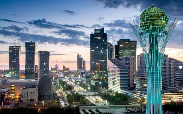 Смотреть красивое фото город Астана 2019