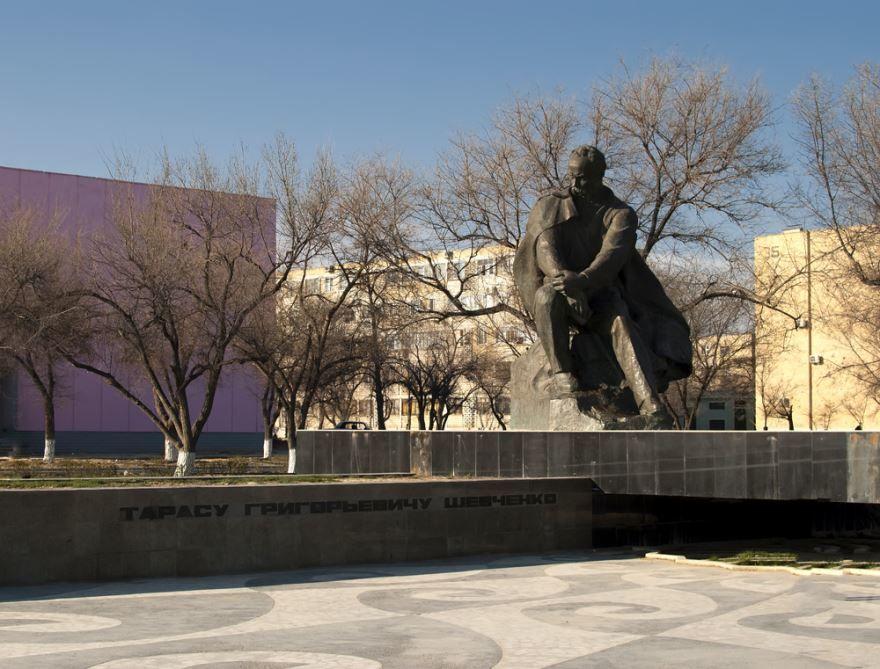 Достопримечательности город Актау Казахстан