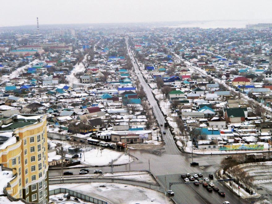 Панорама город Актобе