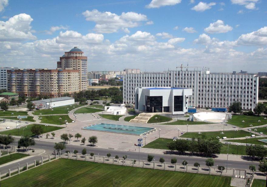 Фото города Атырау Казахстан