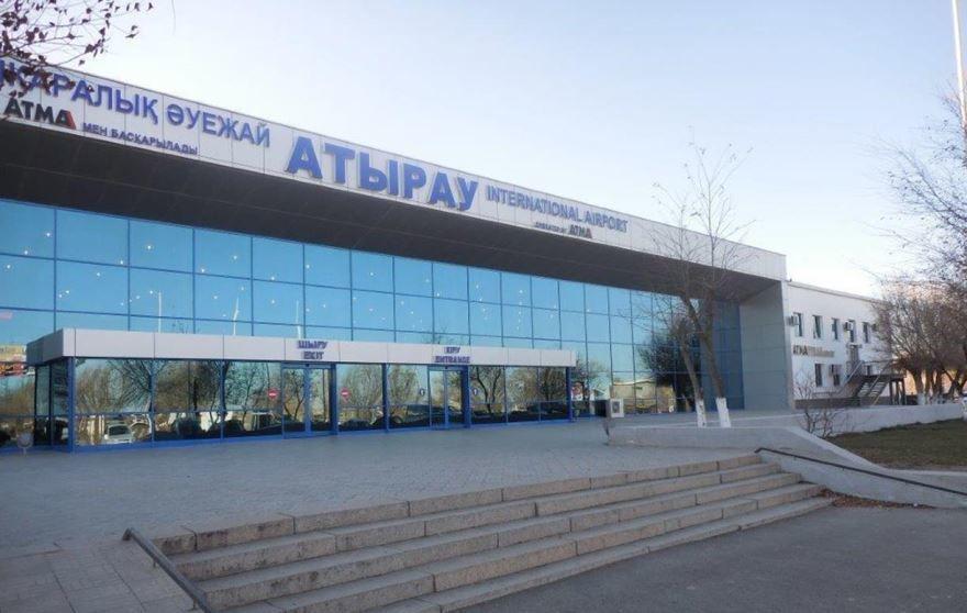 Аэропорт город Атырау Казахстан