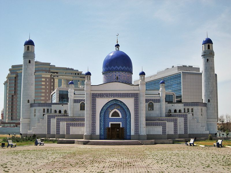 Мечеть город Атырау Казахстан