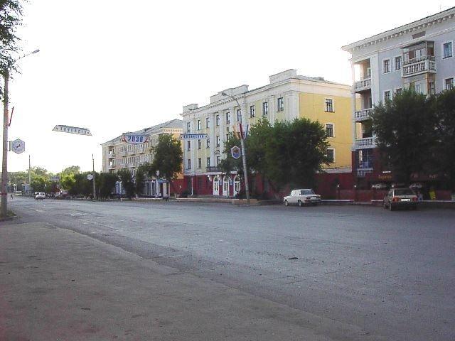 Смотреть красивое фото проспект город Караганда
