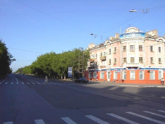 Скачать онлайн бесплатно лучшее фото улица Ленина город Караганда в хорошем качестве