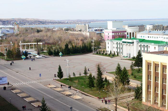 Фото города Кокшетау Казахстан