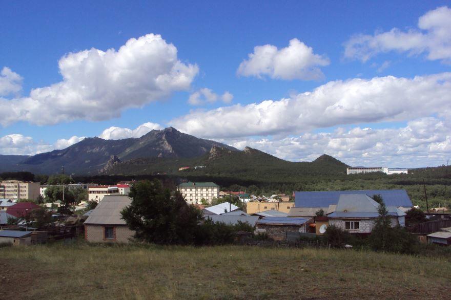 Вид на гору Кокшетау Казахстан