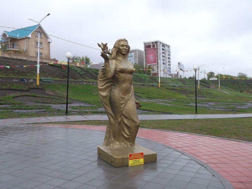 Набережная город Костанай
