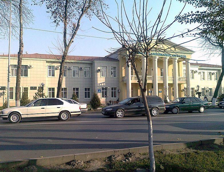 Улица город Шымкент Казахстан