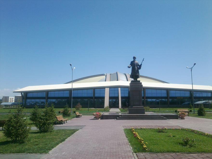 Дворец спорта город Талдыкорган