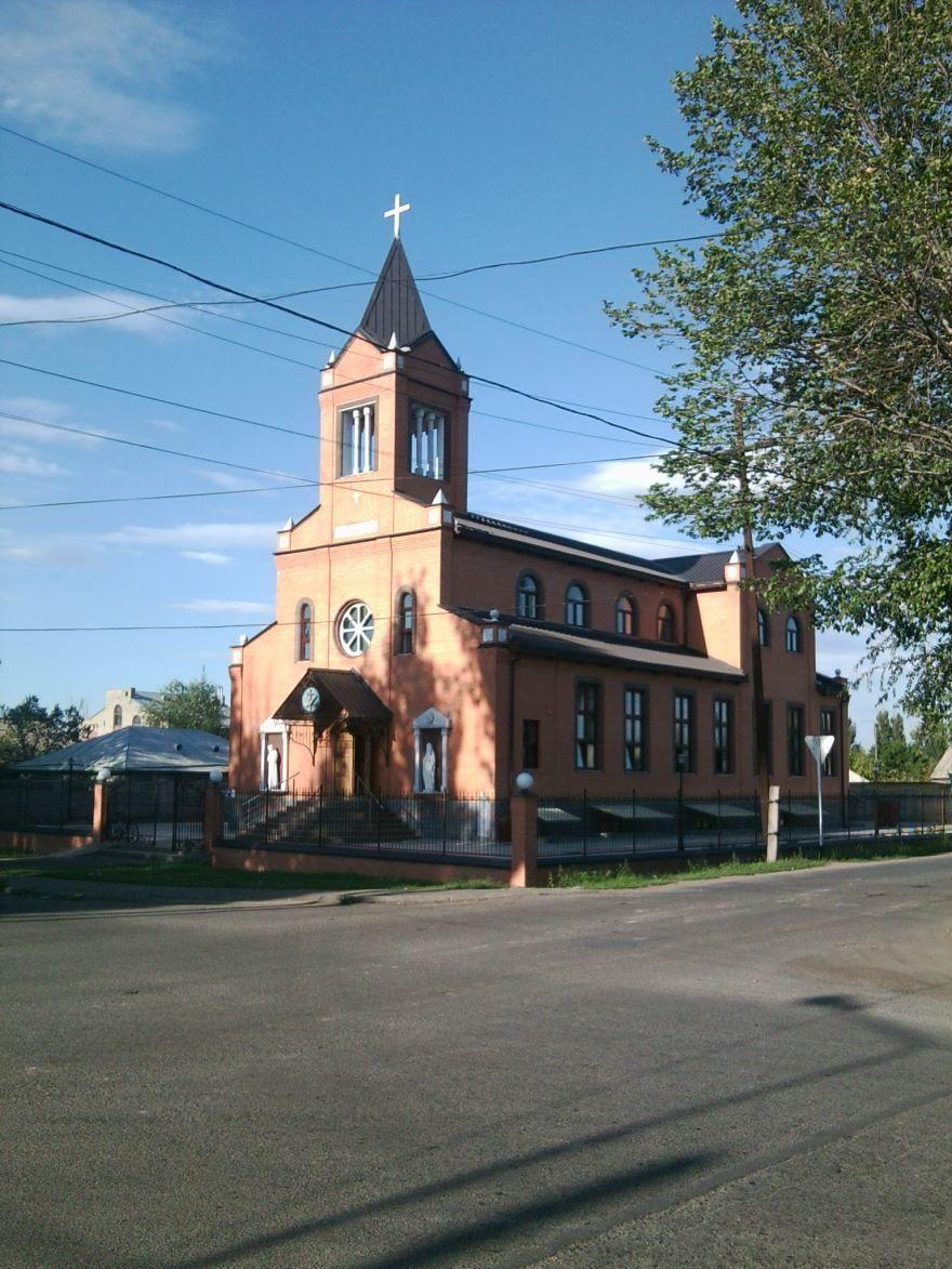 Католический костел город Талдыкорган
