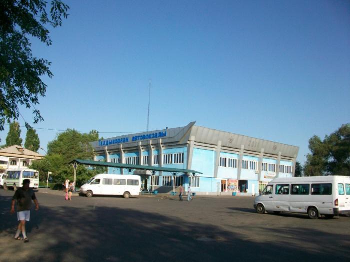 Улица город Талдыкорган