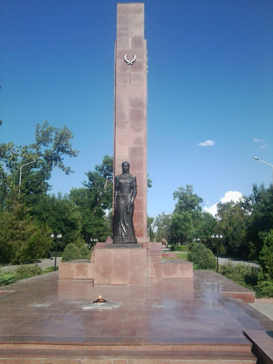 Вечный огонь город Талдыкорган