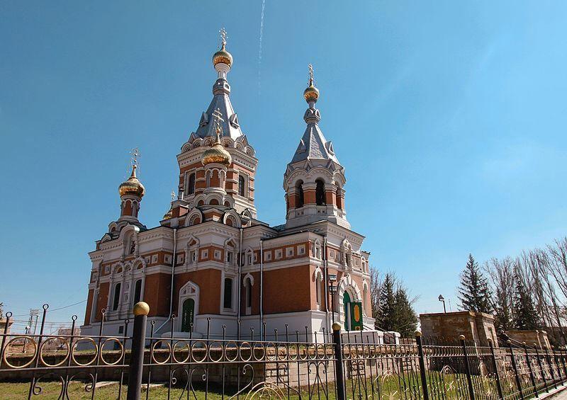 Церковь город Уральск