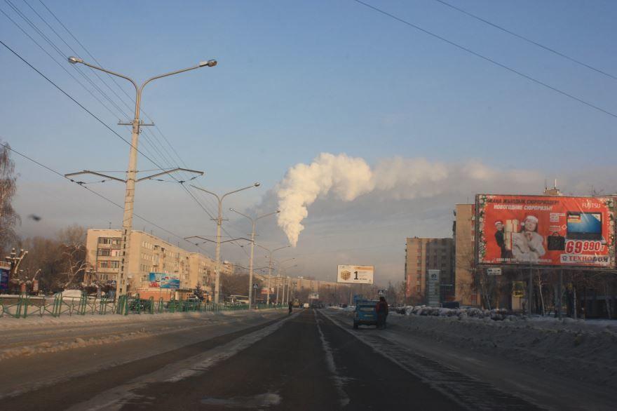 Город Усть-Каменогорск