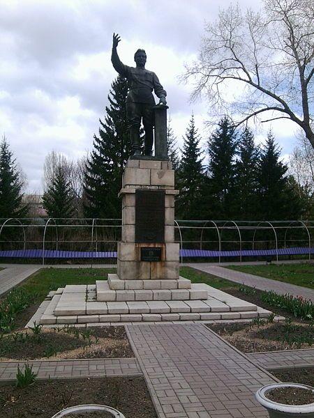 Памятник С.М. Кирову город Усть-Каменогорск